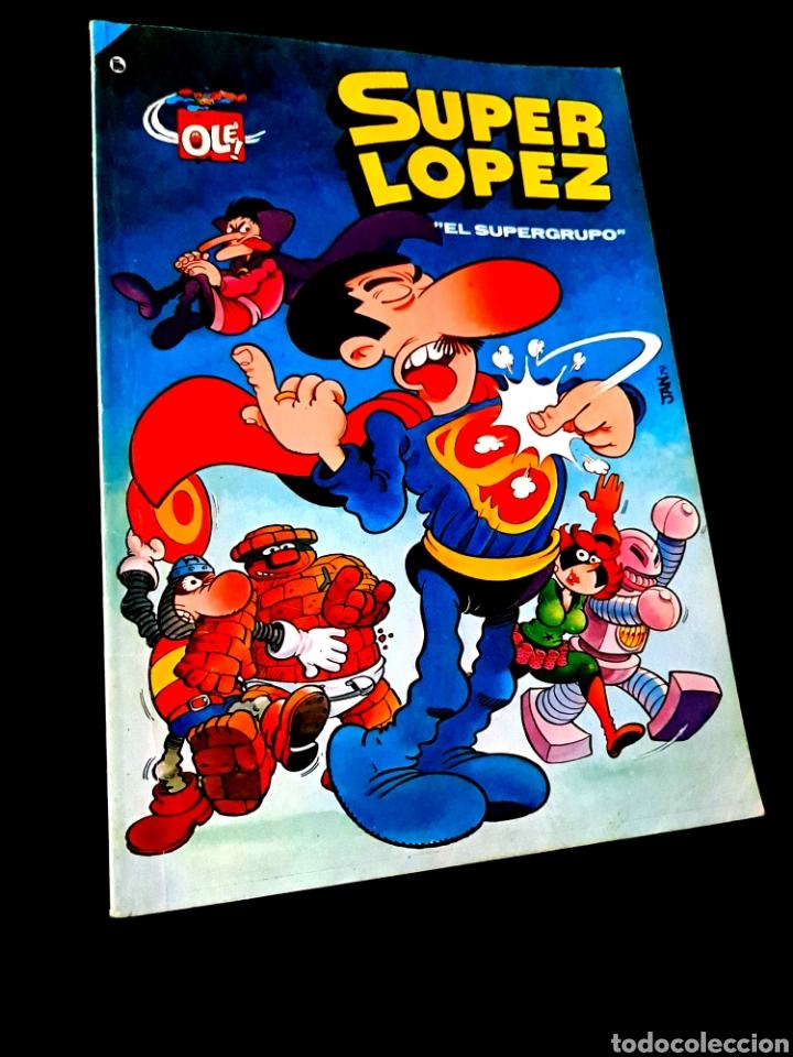 MUY BUEN ESTADO 4° CUARTA EDICION SUPER LOPEZ 2 COMICS EDICIONES B 1986 OLE BRUGUERA (Tebeos y Comics - Bruguera - Super Humor)