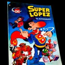 Tebeos: MUY BUEN ESTADO 4° CUARTA EDICION SUPER LOPEZ 2 COMICS EDICIONES B 1986 OLE BRUGUERA. Lote 229989530