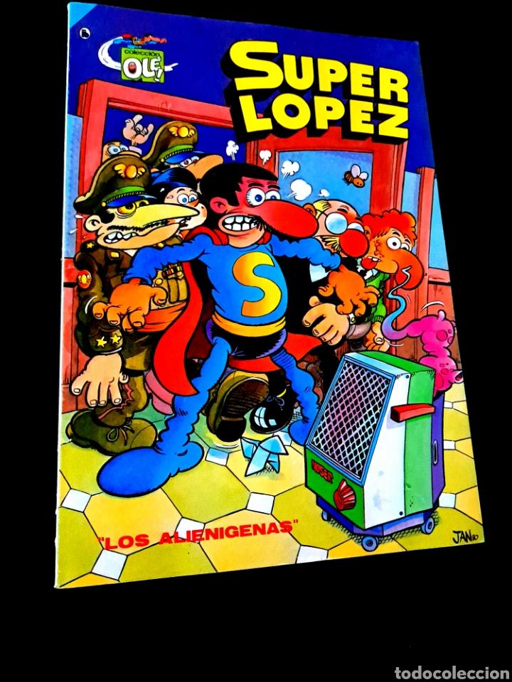 MUY BUEN ESTADO 4° CUARTA EDICION SUPER LOPEZ 4 COMICS EDICIONES B 1986 OLE BRUGUERA (Tebeos y Comics - Bruguera - Super Humor)