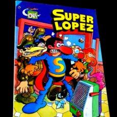 Tebeos: MUY BUEN ESTADO 4° CUARTA EDICION SUPER LOPEZ 4 COMICS EDICIONES B 1986 OLE BRUGUERA. Lote 229989705