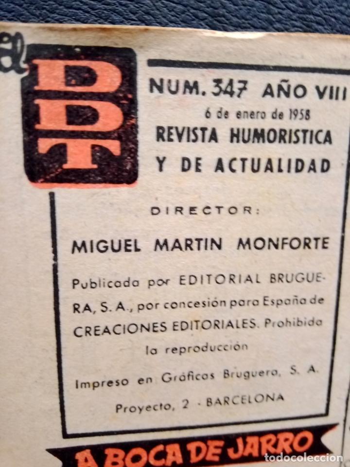 Tebeos: EL DDT 6 DE ENERO 1958 NUM.347 - Foto 3 - 230107385