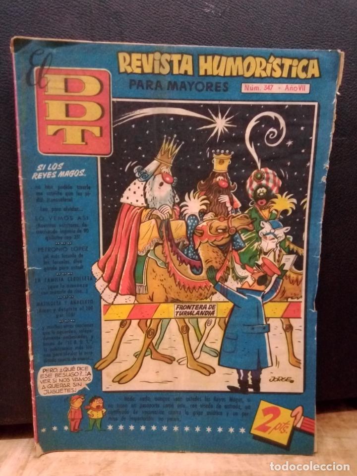 EL DDT 6 DE ENERO 1958 NUM.347 (Tebeos y Comics - Bruguera - DDT)