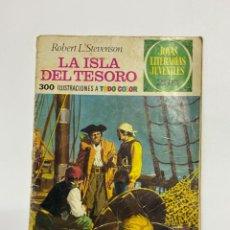 BDs: LA ISLA DEL TESORO. ROBERT L. STEVENSON. JOYAS LITERARIAS JUVENILES. EDITORIAL BRUGUERA. Lote 230246605
