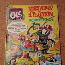 Tebeos: COMIC DE OLE MORTADELO CON ROMPETECHOS EN PESCADORES DE EMBROLLOS DEL AÑO 1984 Nº 285. Lote 230320080