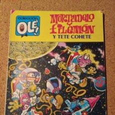Tebeos: COMIC DE OLE MORTADELO Y FILEMON Y TETE COHETE EN CACAO ESPACIAL DEL AÑO 1985 Nº 304. Lote 230322395
