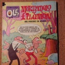 Tebeos: COMIC DE OLE MORTADELO Y FILEMON EN DOS PERCEBES EN APUROS DEL AÑO 1976 Nº 79. Lote 230330845
