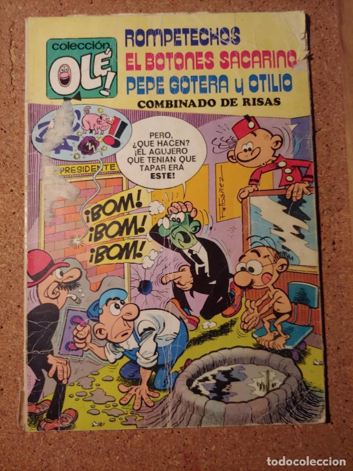 COMIC DE OLE ROMPETECHOS EL BOTONES SACARINO Y PEPE GOTERA Y OTILIO DEL AÑO 1979 Nº 109 (Tebeos y Comics - Bruguera - Ole)