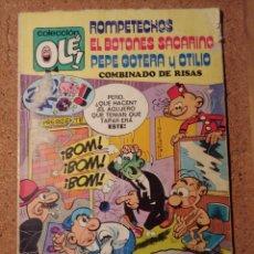 Tebeos: COMIC DE OLE ROMPETECHOS EL BOTONES SACARINO Y PEPE GOTERA Y OTILIO DEL AÑO 1979 Nº 109. Lote 230337835