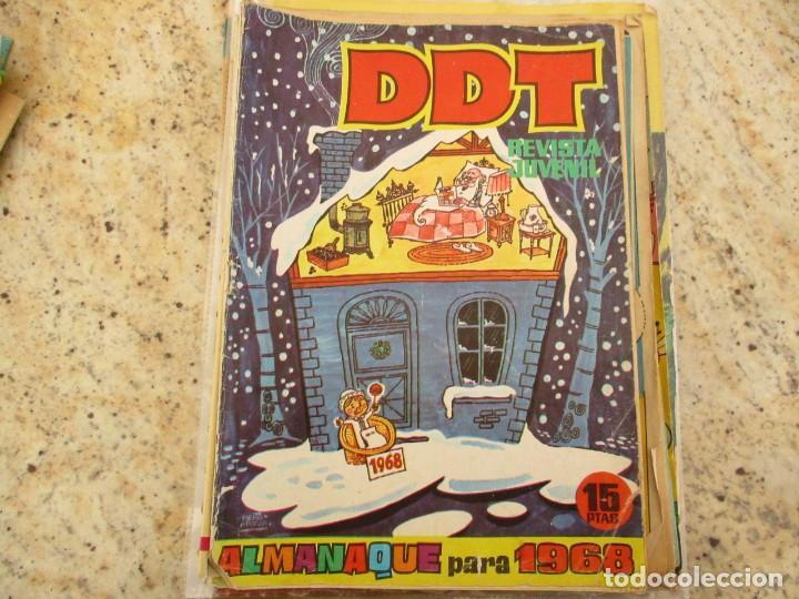 TEBEO DDT AMANAQUE PARA 1968 EDITORIAL BRUGUERA (Tebeos y Comics - Bruguera - DDT)