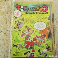Livros de Banda Desenhada: TEBEO TÍO VIVO EXTRA PRIMAVERA 1981 BRUGUERA. Lote 230403620