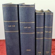 Tebeos: REVISTA PARA ADULTOS CAN CAN. EDITORIAL BRUGUERA. 125 NUMEROS. AÑOS 50/60.. Lote 230541875