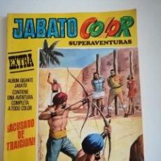 Tebeos: JABATO COLOR EXTRA. ACUSADO DE TRAICIÓN. N° 39. SEGUNDA ÉPOCA. Lote 230563980