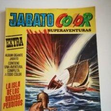Tebeos: JABATO COLOR EXTRA. LA ISLA DE LOS BARCOS PERDIDOS. N° 38. SEGUNDA EPOCA. Lote 230568110