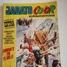 Tebeos: JABATO COLOR EXTRA. COMBATE EN EL VALLE. N° 20. SEGUNDA ÉPOCA. Lote 230568975