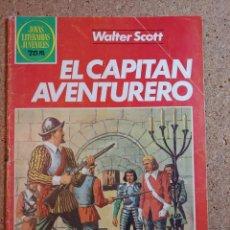 Tebeos: COMIC DE JOYAS LITERARIAS JUVENILES EL CAPITAN AVENTURERO DEL AÑO 1982 Nº 74. Lote 230674540