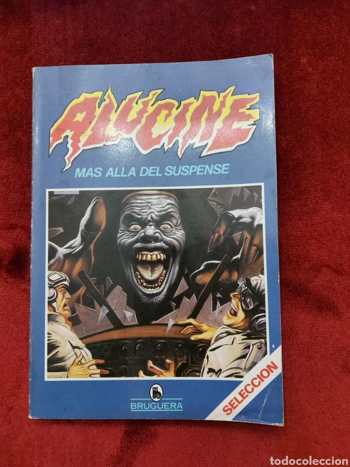 COMIC RETAPADO ALUCINE SELECCION 1 BRUGUERA/SUSPENSE/TERROR/AVENTURAS/MONSTRUOS (Tebeos y Comics - Bruguera - Historias Selección)
