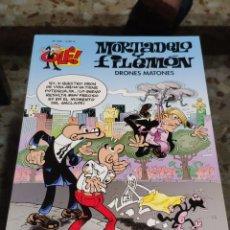 Livros de Banda Desenhada: COLECCIÓN OLÉ! MORTADELO Y FILEMÓN DRONES MATONES, 208 (ED. BRUGUERA). Lote 230938745