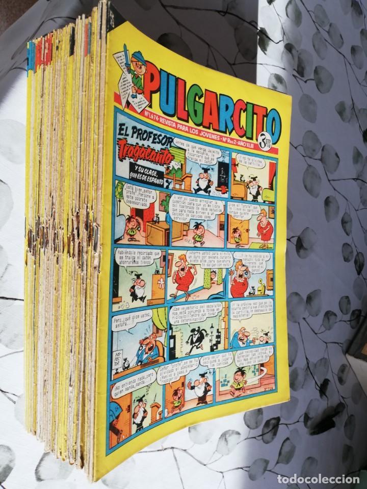 LOTE DE PULGARCITO DE 3 Y 3,50 PTS (Tebeos y Comics - Bruguera - Pulgarcito)