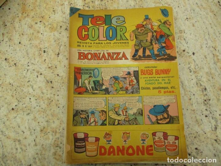TELE COLOR BONANZA Nº 197 AVENTURA EN EL FONDO DEL MAR (Tebeos y Comics - Bruguera - Tele Color)