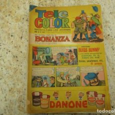 Tebeos: TELE COLOR BONANZA Nº 197 AVENTURA EN EL FONDO DEL MAR. Lote 231220945