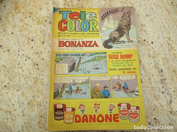 TELE COLOR BONANZA Nº 199 AVENTURA EN EL FONDO DEL MAR (Tebeos y Comics - Bruguera - Tele Color)
