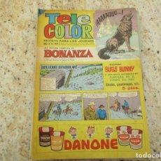 Tebeos: TELE COLOR BONANZA Nº 199 AVENTURA EN EL FONDO DEL MAR. Lote 231221170