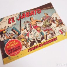 Tebeos: EL JABATO 5 ¡SALDO DE CUENTAS! SUPER AVENTURAS Nº 88 GRÁFICAS BRUGUERA 1958 MORA Y DARNÍS. Lote 231310695