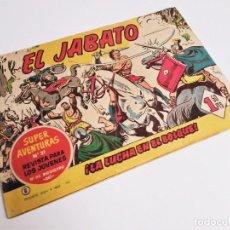 Tebeos: EL JABATO 6 ¡LA LUCHA EN EL BOSQUE! SUPER AVENTURAS Nº 91 GRÁFICAS BRUGUERA 1958 MORA Y DARNÍS. Lote 231314260