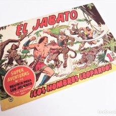 Tebeos: EL JABATO 15 ¡LOS HOMBRES LEOPARDO! SUPER AVENTURAS Nº 113 EDITORIAL BRUGUERA 1959 MORA Y DARNÍS. Lote 231324545