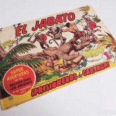 Tebeos: EL JABATO 16 ¡PRISIONEROS DE CARTAGO! SUPER AVENTURAS Nº 116 EDITORIAL BRUGUERA 1959 MORA Y DARNÍS. Lote 231326885
