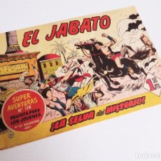 Tebeos: EL JABATO 21 ¡LA SELVA DEL MISTERIO! SUPER AVENTURAS Nº 128 EDITORIAL BRUGUERA 1959 MORA Y DARNÍS. Lote 231327925