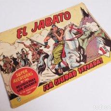 Tebeos: EL JABATO 29 ¡LA CIUDAD SITIADA! SUPER AVENTURAS Nº 148 EDITORIAL BRUGUERA 1959 MORA Y DARNÍS. Lote 231336965