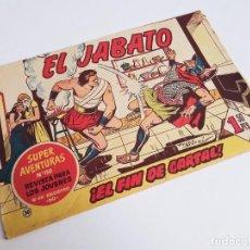 Tebeos: EL JABATO 30 ¡EL FIN DE CARTAL! SUPER AVENTURAS Nº 150 EDITORIAL BRUGUERA 1959 MORA Y DARNÍS. Lote 231337475