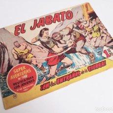 Tebeos: EL JABATO 33 ¡EN LAS ENTRAÑAS DE LA TIERRA! SUPER AVENTURAS Nº 158 BRUGUERA 1959 MORA Y DARNÍS. Lote 231346210