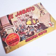 Tebeos: EL JABATO 36 ¡CONTRA CAYO! SUPER AVENTURAS Nº 165 EDITORIAL BRUGUERA 1959. Lote 231348315