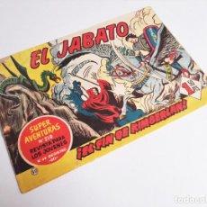 Tebeos: EL JABATO 50 ¡EL FIN DE KIMBERLAND! SUPER AVENTURAS Nº 210 EDITORIAL BRUGUERA 1959. Lote 231356330