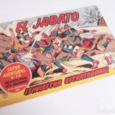 Tebeos: EL JABATO 53 ¡EL FUEGO GRIEGO! SUPER AVENTURAS Nº 218 EDITORIAL BRUGUERA 1959. Lote 231358320