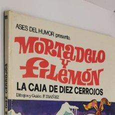 Tebeos: MORTADEL Y FILEMON - ASES DEL HUMOR 11 - LA CAJA DE DIEZ CERROJOS - BRUGUERA 1971. Lote 231474115