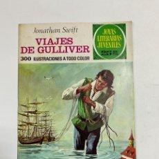 Tebeos: VIAJES DE GULLIVER. JONATHAN SWIFT. JOYAS LITERARIAS JUVENILES Nº 105. EDITORIAL BRUGUERA. 1977. Lote 231513650