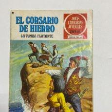 BDs: EL CORSARIO DE HIERRO.LA TUMBA FLOTANTE. JOYAS LITERARIAS JUVENILES Nº 16. EDITORIAL BRUGUERA. 1978. Lote 231515880