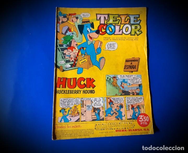 TELE COLOR Nº 1 - BRUGUERA 1963 (Tebeos y Comics - Bruguera - Tele Color)