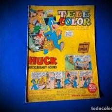 Tebeos: TELE COLOR Nº 1 - BRUGUERA 1963. Lote 231524270