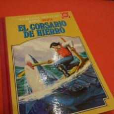 Tebeos: EL CORSARIO DE HIERRO. TOMO BRUGUERA Nº IV. JOYAS LIT. JUVENILES. SERIE ROJA. Lote 231660955
