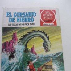 BDs: JOYAS LITERARIAS Nº 2 SERIE ROJA - EL CORSARIO DE HIERRO BRUGUERA ARX31. Lote 231700650