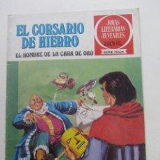 BDs: EL CORSARIO DE HIERRO Nº 32. JOYAS LITERARIAS JUVENILES. BRUGUERA SERIE ROJA ARX31. Lote 231701910