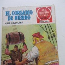 BDs: EL CORSARIO DE HIERRO Nº 33 JOYAS LITERARIAS JUVENILES. BRUGUERA SERIE ROJA ARX31. Lote 231702950