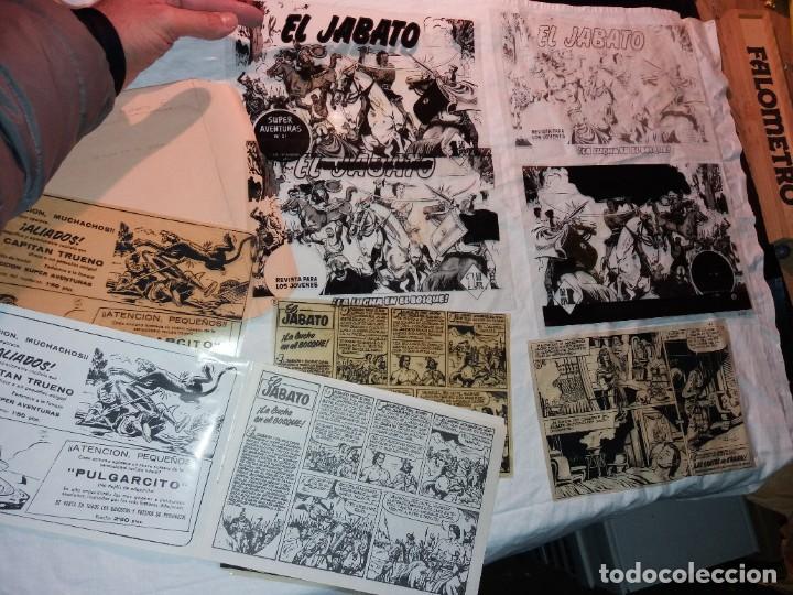 FOTOLITO ORIGINAL NUMERO 6 DE EL JABATO,(PORTADAS E INTERIORES) (Tebeos y Comics - Bruguera - Jabato)