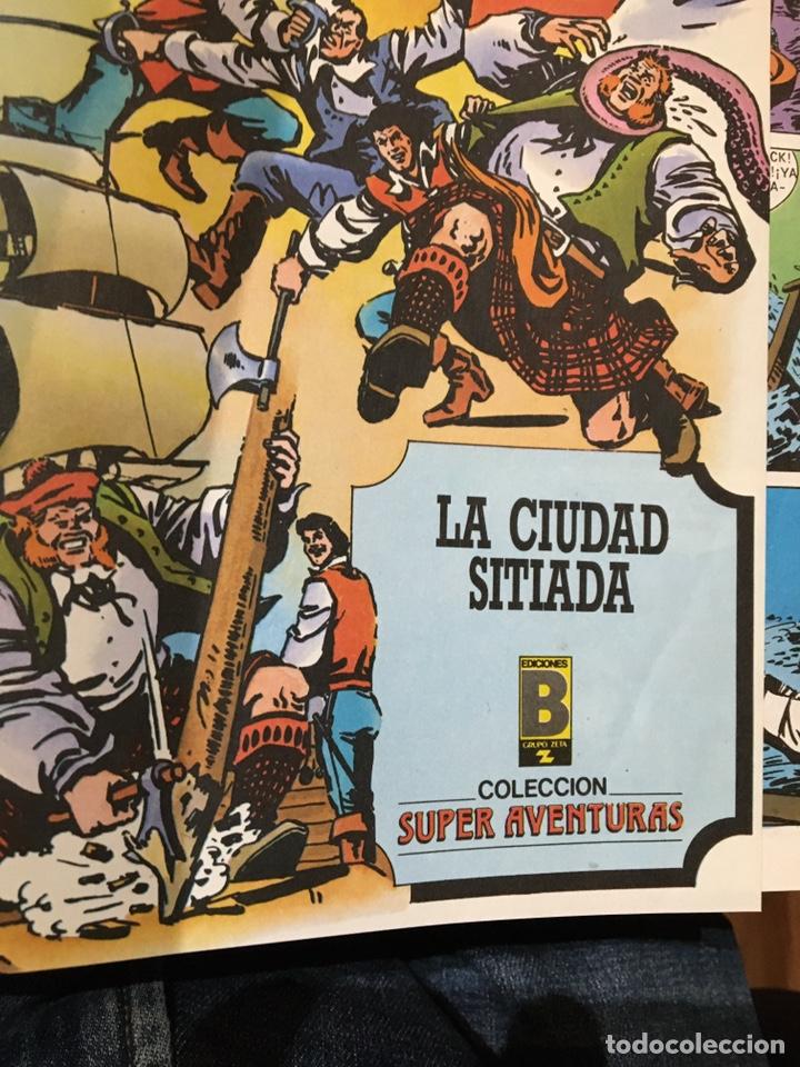 Tebeos: CORSARIO DE HIERRO - ED. HISTÓRICA - TOMOS 2 y 4 - ED. BRUCH - PRECIO POR TOMO - Foto 2 - 232126975