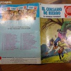 Tebeos: JOYAS LITERARIAS JUVENILES NUMERO 14 EL CORSARIO DE HIERRO EL BOYARDO TAMAROFF. Lote 232190155