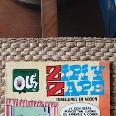 Livros de Banda Desenhada: OLÉ Nº 127 ZIPI Y ZAPE. BRUGUERA 2ª EDICIÓN. Lote 232241030
